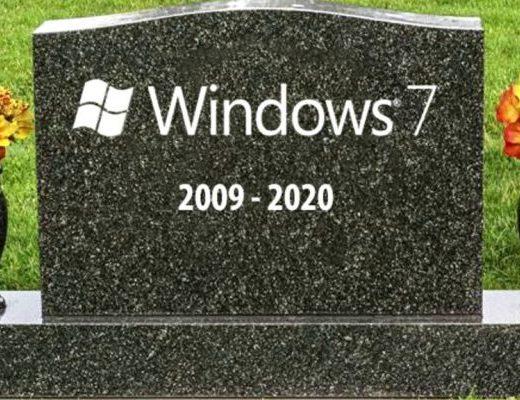 WIndows 7 RIP